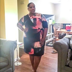 Comfortable and Stylish Abstract Print Dress